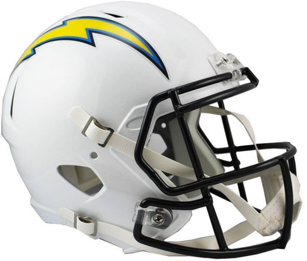 0277ac409 Riddell NFL San Diego Chargers Full Size Replica Speed Helmet ...