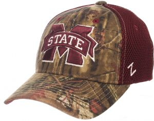 8209fc6b959f0b Zephyr NCAA Mississippi State Bulldogs Children Boys Terrain Cap, Youth,  Mossy Oak Camo