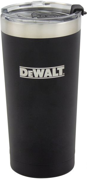 1d35f63023f DEWALT Stainless Steel Tumbler, Black, 20 Ounce. by DEWALT, Drinkware - Be  the first to rate this product