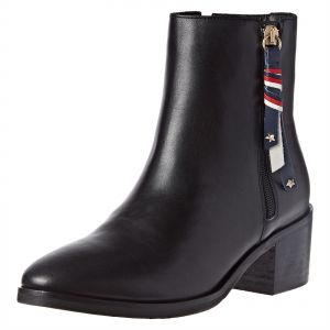 55d342b293b Tommy Hilfiger Corporate Tassel Mid Ankle Boots for Women - 40 EU