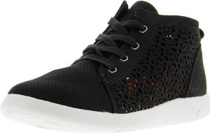 001f06eab4e Bearpaw Women s Savannah Black Ii Ankle-High Suede Fashion Sneaker - 7M