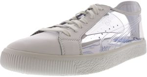 28151262f24ef1 Puma Men s Clyde Clear Sm White   Ankle-High Fashion Sneaker - 11.5M