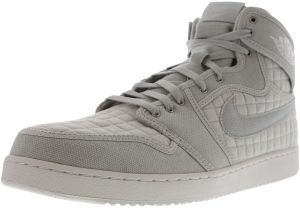 bd75ef3d2aef Nike Men s Air Jordan 1 Ko High Og Pure Platinum   White - Metallic Silver  High-Top Canvas Fashion Sneaker 14M