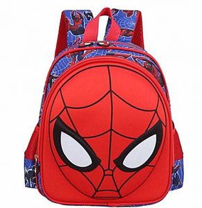1fd958b4ba Cartoon Spider man School Backpack Anime Superman Primary School Bags For  Kids