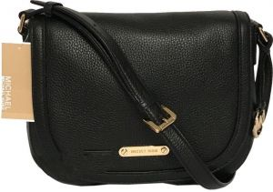 0c1000c72ea6 Michael Kors Women s Black Blakeley Flap Large Messenger Crossbody Bag -  Black