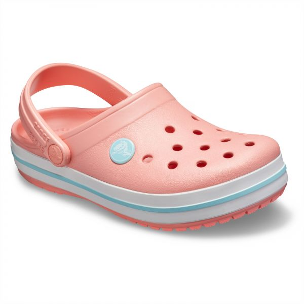 b1786bf1a Crocs Crocband clogs for Kids - Melon Ice Blue