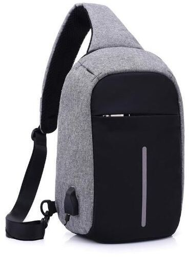 Sling Bag with USB Charging Port   Headphone Hole 18756c6e49b7b