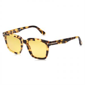 11a1acf84602 Tom Ford Square Unisex Sunglasses - Yellow Lens