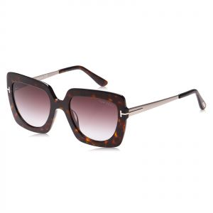 dcd5ac6cabe5 Tom Ford Square Unisex Sunglasses - Brown Lens