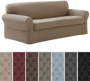 Magnificent Buy Stretched Sofa Covers Maytex Surefit Subrtex Ksa Souq Home Interior And Landscaping Eliaenasavecom