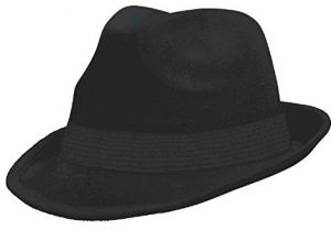 2fa251c53bfef Amscan Velour Fedora Hat Costume Party Headwear