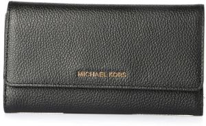 b040b0d28cf73 Michael Kors Trifold Wallet for Women - Black