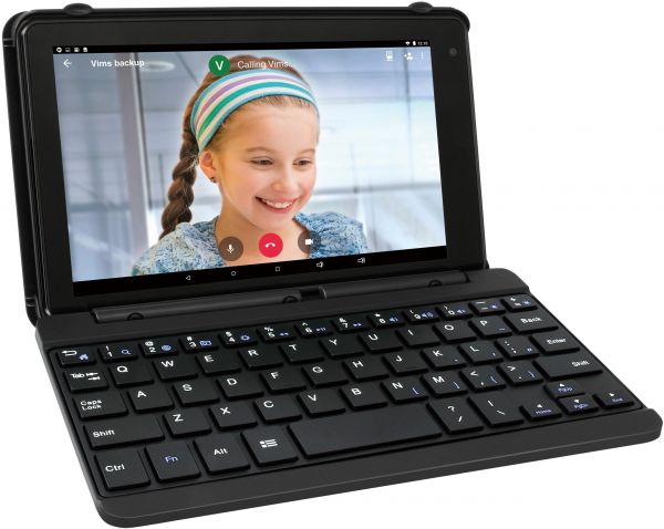 RCA Voyager Pro 2in1 Tablet laptop Quad-Core 1.2Ghz, 1GB RAM, 16GB, 7 Inch With Keyboard - charcoal