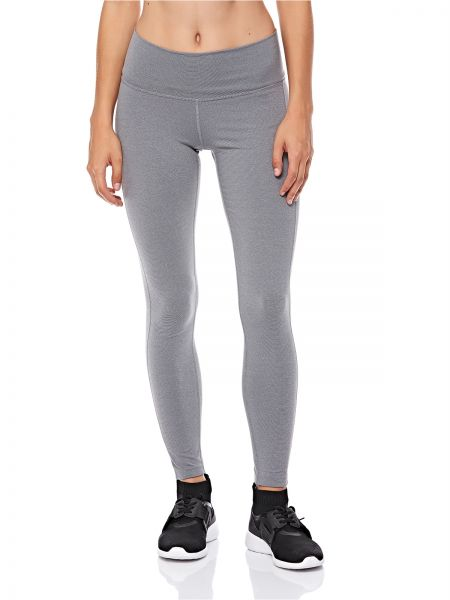 fb576a25a30 adidas Believe This High Rise Heathered Sport Tight for Women - Grey ...