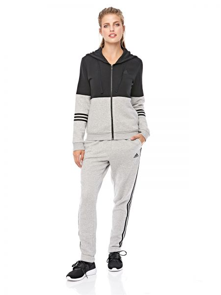 215a4c4b837a adidas Wts Co Energize Tracksuit for Women - Black Medium Grey ...