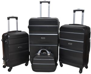 New Travel Luggage Trolley Bag for Unisex - Black 3549947be69db