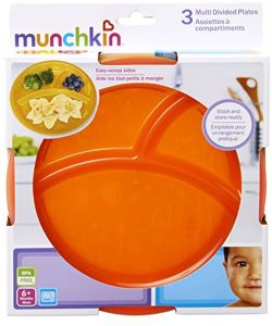 Cups, Dishes & Utensils Baby 5 Pack Multi Plates By Munchkin Moderate Cost