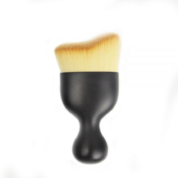 STELLAIRE CHERN 1 Piece Professional Angled Contour radian Brush Great for Blending Liquid, Cream & Mineral Cosmetics or Translucent Powder