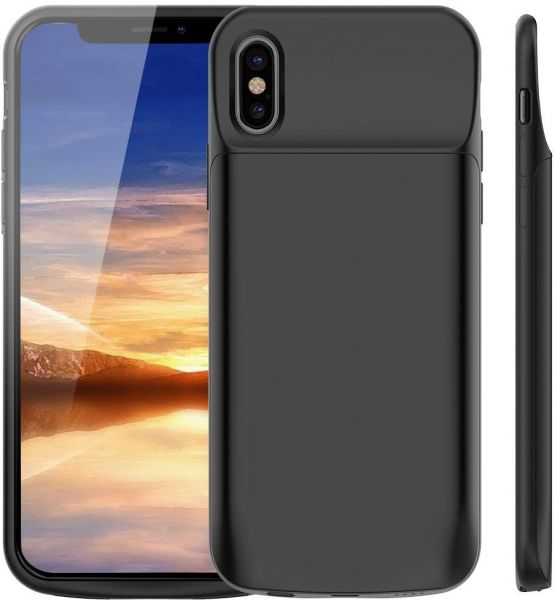 new style 47080 55767 iPhone XS/X Battery Case, Vproof 3200mah Portable Charger Rechargeable  Charging Case External Battery Protective Cover for apple iPhone X, iPhone  XS ...