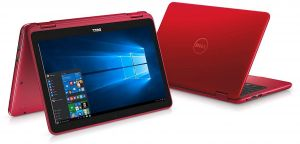 Dell Inspiron 11 3185 Notebook, AMD A9-9420E, 11 6 Inch Touch Screen, 4GB  RAM, 500GB HDD, AMD Radeon R5 Graphics, Windows 10, Red