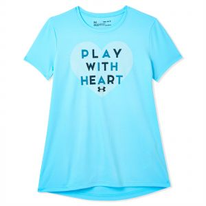 60f6c13e2 Under Armour Play With Heart Training T-Shirt for Kids