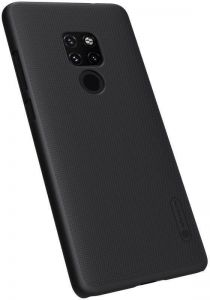 HUAWEI Mate 20 Nillkin Hard Super Frosted Shield Anti-Fingerprint Protection Case Cover Black