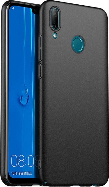 purchase cheap 723f0 fbfdd Hard PC Slim back cover for Huawei P Smart 2019 - Black