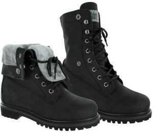 8ddf0932e Safety Girl GS008-BLK-ST-8.5M Madison Fold-Down Work Boot - Black Steel Toe  8.5M, English, Capacity, Volume, Leather, 8.5M, Black ()