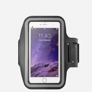 Cell Phone Armband Sports Running Jogging Gym Armband Arm Band Case Cover Holder For Iphone 8 Plus Iphone 7 6 Inch Or Less Mobile Phone Black Buy Online Mobile Phone Accessories At Best
