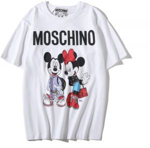 d9b46f6b28 Moschino Mich Minnie Short Sleeve White T-shirt Lady Tee White For Women  and Lady
