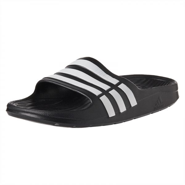 0b444c41a70c adidas Duramo Comfort Slide Sandals for Kids - Core Black Ftwwhite. by  adidas