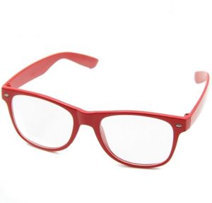 b6d26c55de0 Red Wayfarer Eyeglass for Girl Teenager