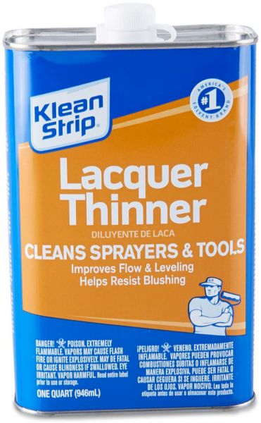 Interesting. Prompt, klean lacquer strip thinner are mistaken