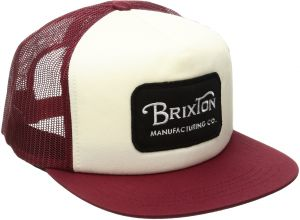 f2c4c5d6ec5dc Brixton Men s Grade High Profile Adjustable Mesh Hat