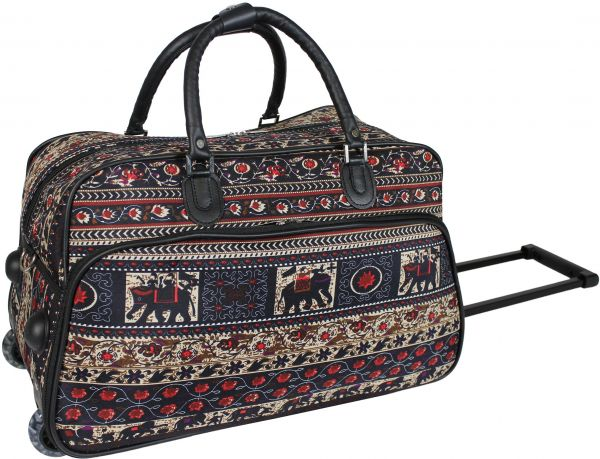 2a0aad5f4ddd World Traveler 21-Inch Carry-On Rolling Duffel Bag