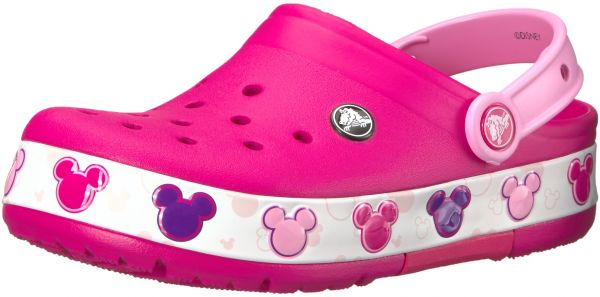 4b21437df0cca Crocs Kids  Crocband Fun Lab Mickey Light-up Clog