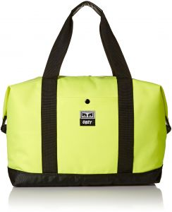 OBEY Men s Drop Out Weekender Duffle Tote Bag 3484e9d96b92c