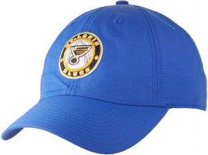 reputable site 6ef7f f5891 OTS NHL St. Louis Blues Male Wind Swept Challenger Adjustable Hat, Royal, One  Size