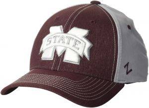 1d250bff276e2d ZHATS NCAA Mississippi State Bulldogs Men's Clash Waterproof Performance Cap,  Medium/Large, Maroon