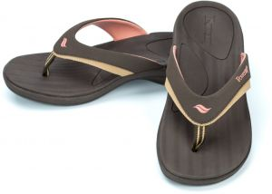 1a7c08714e72 Powerstep Women s Fusion Flip-Flop Sandals - Orthotic Sandal with Built-in Arch  Support for Plantar Fasciitis and Flat Feet