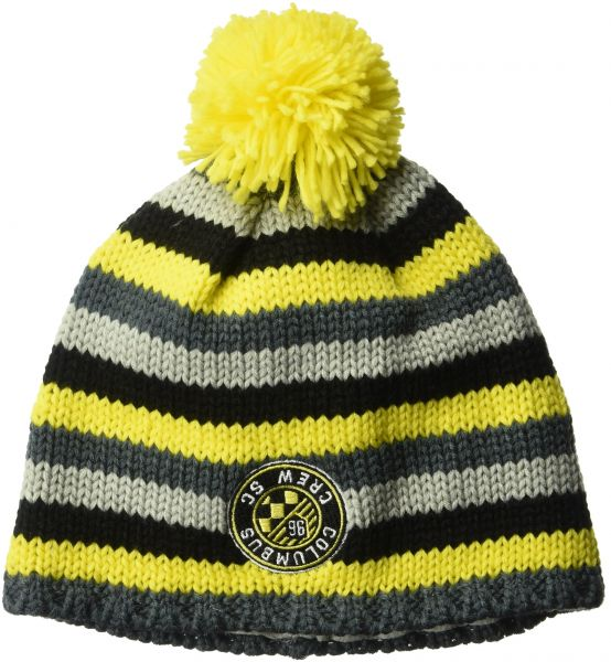 a84047aafa2 adidas MLS Columbus Crew Men s Textured Beanie with Pom