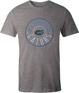 0343c4b12 NCAA Florida Gators Adult Unisex NCAA Circles Image One Everyday Short  sleeve T-Shirt, XX-Large,HeatherGrey