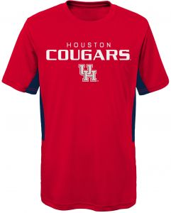 f0d6dbc01 NCAA Houston Cougars Youth Boys Mainframe  Short Sleeve Performance Top