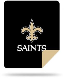 9cd16639ccc Officially Licensed NFL New Orleans Saints Nflnfl Denali Silver Knit Throw  Blanket
