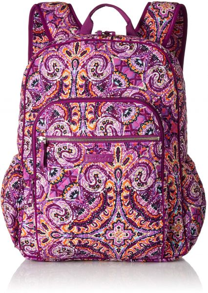 e0c2f83fe6a7 Vera Bradley Iconic Campus Backpack