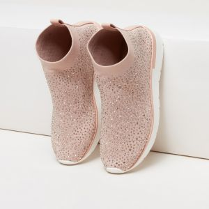 552eec3f9 ELLE Embellished High Top Shoes with Pull Tab
