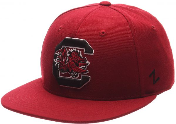 reputable site 09dc7 9eaa2 Zephyr NCAA South Carolina Fighting Gamecocks Men s M15 Fitted Hat,  Cardinal, Size 7 3 4   KSA   Souq
