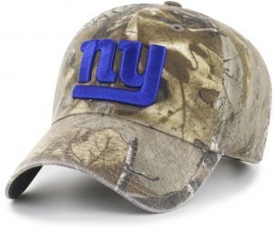 9ed19f945ea OTS NFL New York Giants Realtree Challenger Clean Up Adjustable Hat