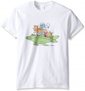 2280ed825a6 The Jetsons Men s Big and Tall Family Space Car T-Shirt