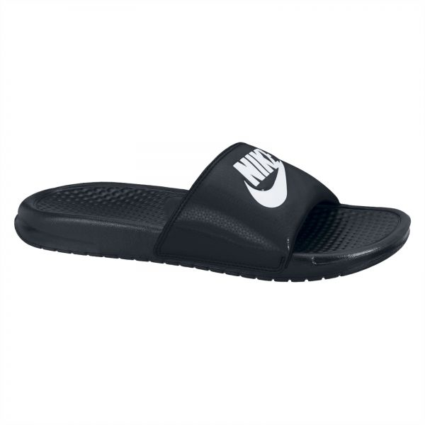 f57b97f9c679 Nike Benassi JDI Slide Slippers for Men - Black White